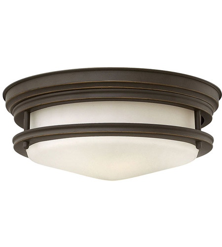 Hinkley 3302OZ-LED Hadley LED 12 inch Oil Rubbed Bronze Flush Mount Ceiling Light photo
