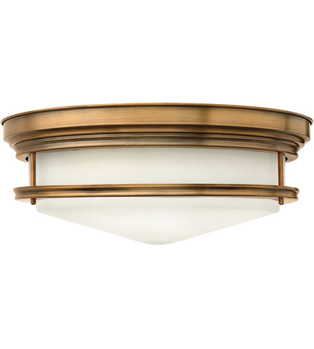 Hinkley Lighting Hadley 4 Light Flush Mount in Brushed Bronze 3304BR photo