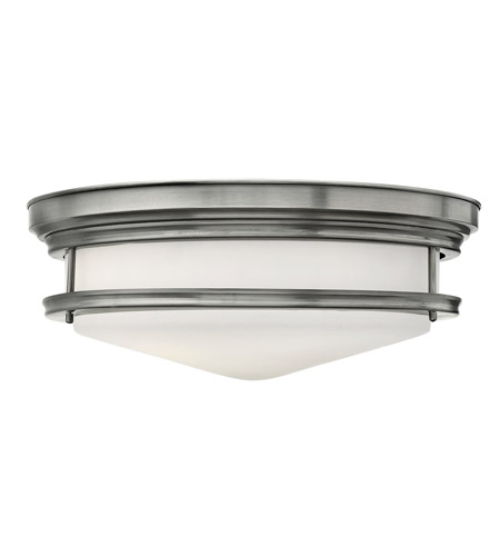 Hinkley Lighting Hadley 3 Light Foyer in Antique Nickel 3304AN-LED