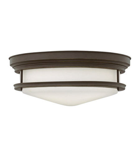Hinkley Lighting Hadley 3 Light Flush Mount in Oil Rubbed Bronze 3304OZ-LED photo