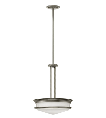 Hinkley Lighting Hadley 4 Light Foyer in Antique Nickel 3305AN-LED