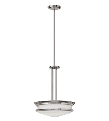 Hinkley 3305CM-LED Hadley LED 20 inch Chrome Foyer Ceiling Light photo