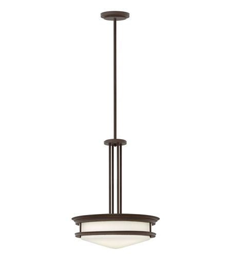 Hinkley Lighting Hadley 4 Light Foyer in Oil Rubbed Bronze 3305OZ-LED