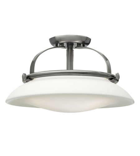 Hinkley Lighting Hutton 3 Light Foyer in Brushed Nickel 3321BN