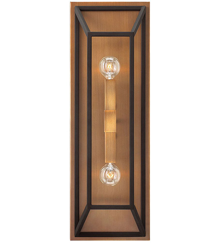 Hinkley Lighting Fulton 2 Light Sconce in Bronze 3330BZ photo