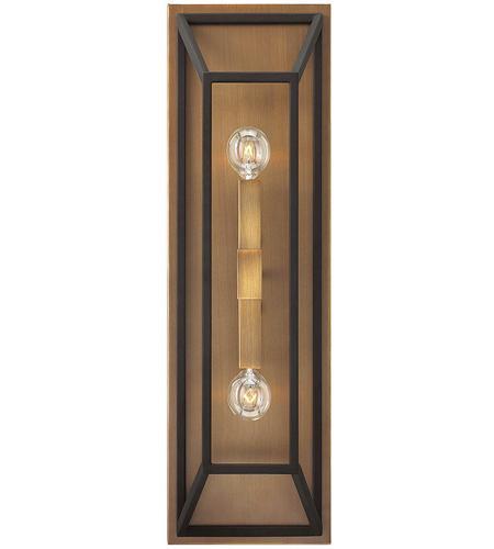 Hinkley Lighting Fulton 2 Light Sconce in Bronze 3330BZ
