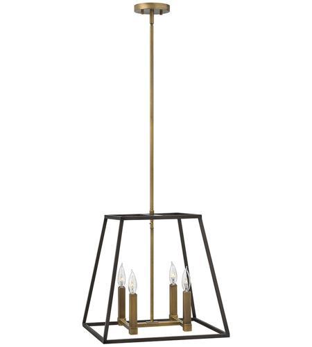 Fulton 4 light 18 inch bronze foyer pendant ceiling light aloadofball Images