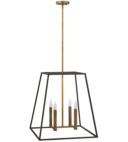 Hinkley Lighting Fulton 4 Light Foyer in Bronze 3336BZ photo