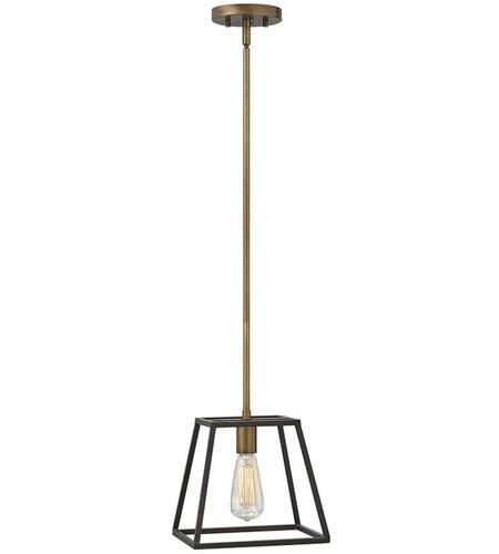 Hinkley Lighting Fulton 1 Light Mini-Pendant in Bronze 3337BZ