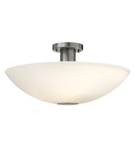 Hinkley Lighting Camden 4 Light Semi Flush in Brushed Nickel 3342BN