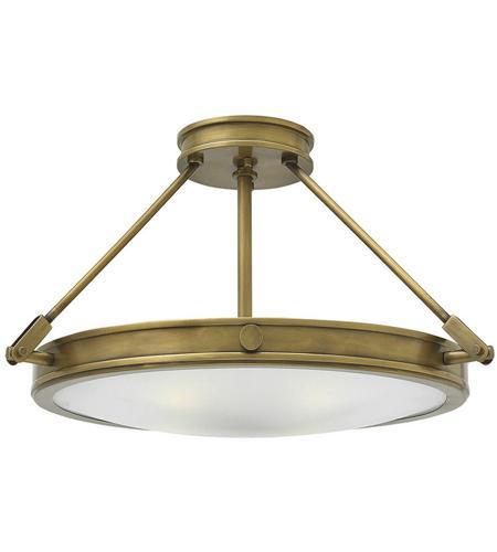 Elk Lighting Garriston: Hinkley 3382HB Collier 4 Light 22 Inch Heritage Brass