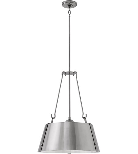 Hinkley Lighting 3397RS Pendants Rustic Brass Steel Cartwright