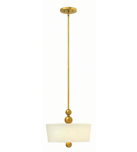 Hinkley 3443VS Zelda 2 Light 15 inch Vintage Brass Foyer Ceiling Light photo
