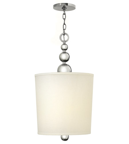 Hinkley Lighting Zelda 4 Light Foyer in Polished Nickel 3449PN