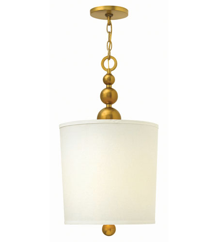 Hinkley 3449VS Zelda 4 Light 14 inch Vintage Brass Foyer Ceiling Light photo