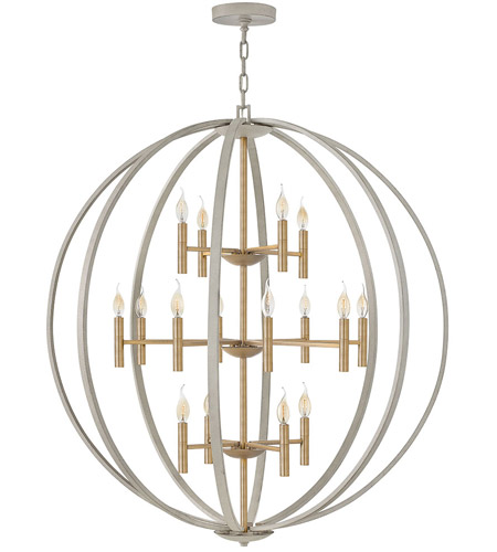 Steel Euclid Chandeliers