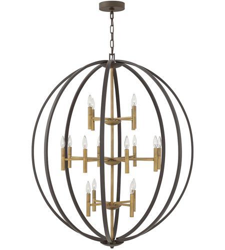 Hinkley 3464sb euclid 16 light 44 inch spanish bronze chandelier hinkley 3464sb euclid 16 light 44 inch spanish bronze chandelier ceiling light photo aloadofball Images