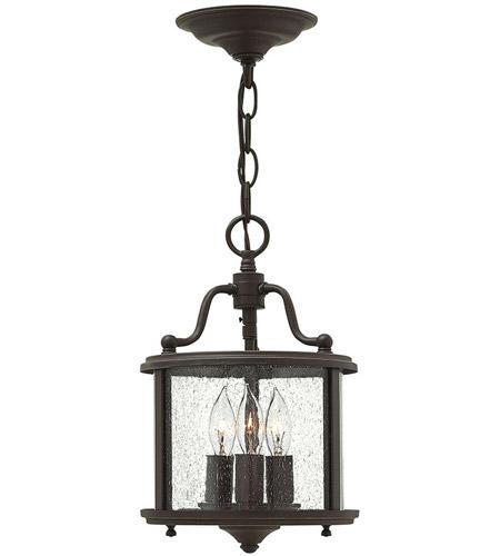 3472OB Olde Bronze Hinkley Lighting Gentry 2 Light Foyer Flush Mount
