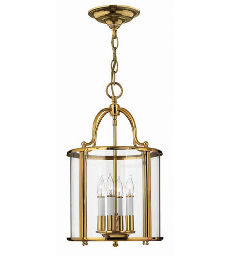 Hinkley Lighting Gentry 4 Light Hanging Foyer in Polished Brass 3474PB