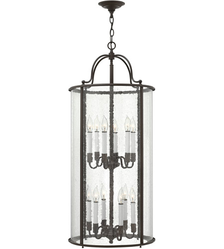 Hinkley Lighting Gentry 12 Light Foyer in Olde Bronze 3479OB photo