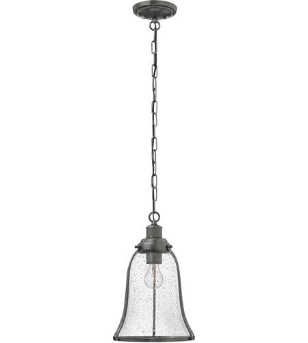 Hinkley Lighting Marlowe 1 Light Mini-Pendant in Antique Nickel 3494AN photo