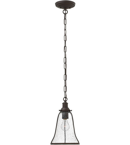 Hinkley 3497OZ Marlowe 1 Light 8 inch Oil Rubbed Bronze Mini-Pendant Ceiling Light photo
