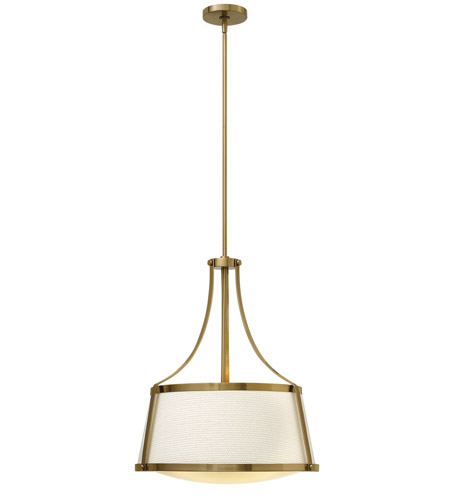 Hinkley Lighting Charlotte 3 Light Foyer in Brushed Caramel 3524BC