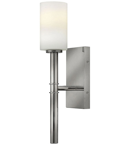 Hinkley Lighting Margeaux 1 Light Sconce in Polished Nickel 3580PN