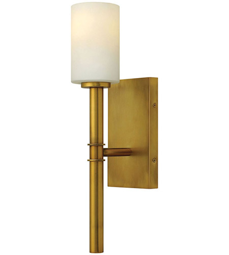Hinkley Lighting Margeaux 1 Light Wall Sconce in Vintage Brass 3580VS photo