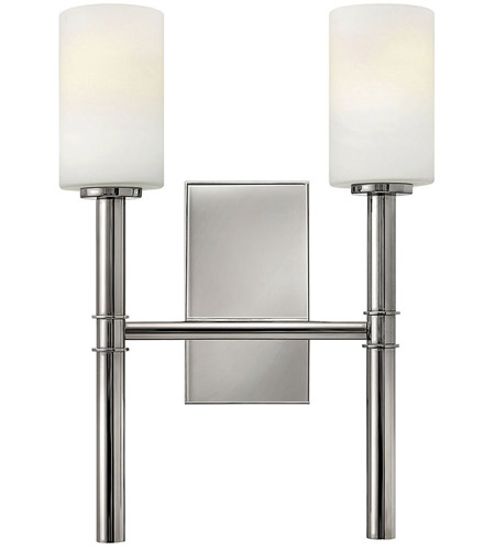 Hinkley 3582PN Margeaux 2 Light 13 inch Polished Nickel Sconce Wall Light photo