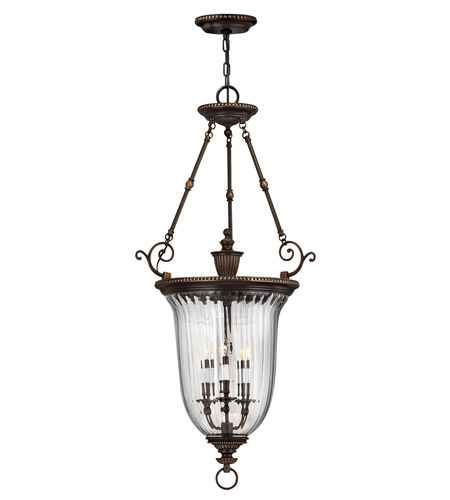 Hinkley Lighting Cambridge 3 Light Hanging Foyer in Olde Bronze 3614OB