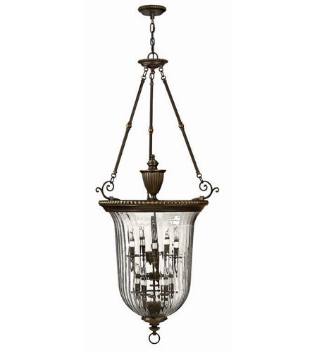 Hinkley Lighting Cambridge 10 Light Hanging Foyer in Olde Bronze 3615OB photo