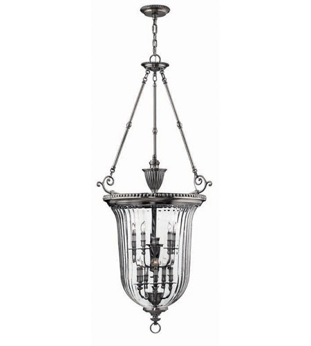 Hinkley Lighting Cambridge 10 Light Hanging Foyer in Pewter 3615PW