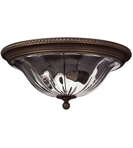 Hinkley 3616OB Cambridge 2 Light 16 inch Olde Bronze Foyer Flush Mount Ceiling Light photo