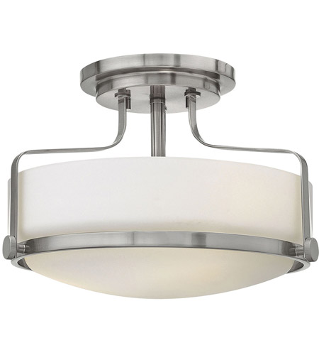 Hinkley Lighting Harper 2 Light Foyer in Brushed Nickel 3641BN-LED
