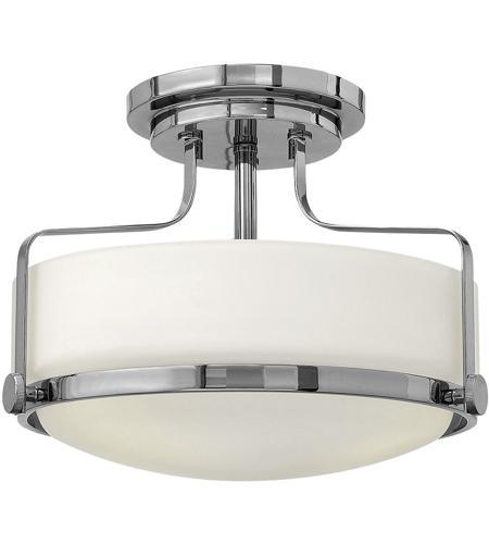 Hinkley Lighting Harper 2 Light Semi Flush in Chrome 3641CM-LED photo