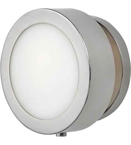 Hinkley Lighting Mercer: Hinkley 3650PN Mercer 1 Light 7 Inch Polished Nickel ADA