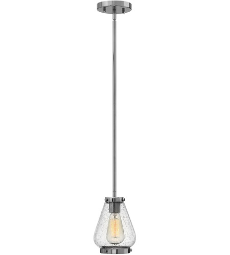 Hinkley Lighting Finley 1 Light Mini-Pendant in Chrome 3687CM photo