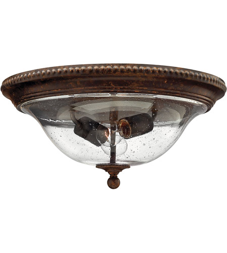 Hinkley 3716FB Rockford 2 Light 16 inch Forum Bronze Foyer Flush Mount Ceiling Light photo