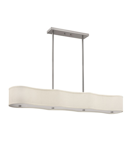 Hinkley Lighting Cirrus 6 Light Hanging Foyer in Brushed Nickel 3806BN photo