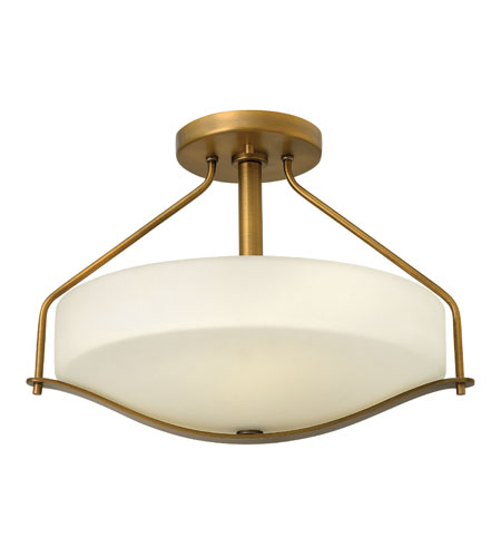 Hinkley Lighting Pelham 3 Light Foyer in Brushed Bronze 3821BR