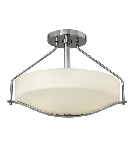 Hinkley Lighting Pelham 3 Light Foyer in Chrome 3821CM