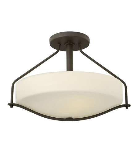 Hinkley Lighting Pelham 3 Light Foyer in Oil Rubbed Bronze 3821OZ