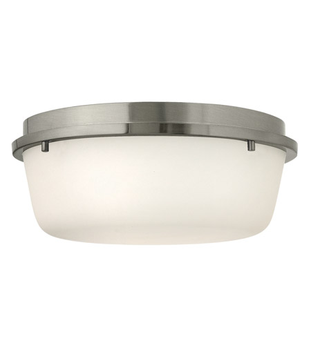 Hinkley 3851BN Turner 3 Light 13 inch Brushed Nickel Semi Flush Ceiling Light photo