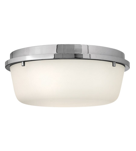 Hinkley Lighting Turner 3 Light Semi Flush in Chrome 3851CM photo