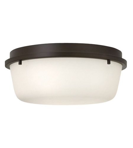 Hinkley Lighting Turner 3 Light Semi Flush in Oil Rubbed Bronze 3851OZ