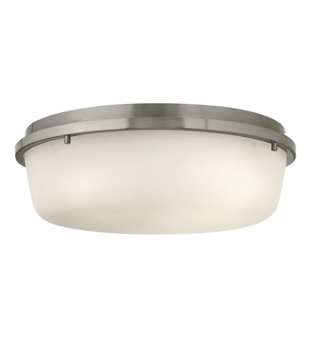 Hinkley 3852BN Turner 3 Light 16 inch Brushed Nickel Semi Flush Ceiling Light photo