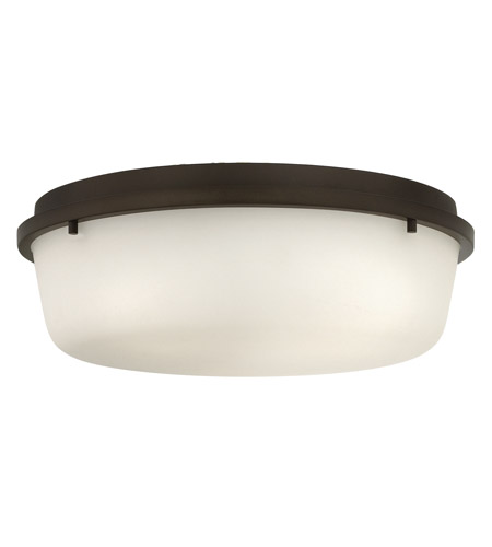 Hinkley 3852OZ Turner 3 Light 16 inch Oil Rubbed Bronze Semi Flush Ceiling Light photo