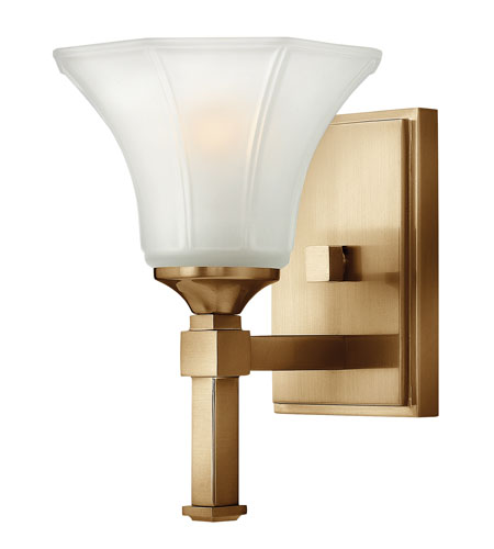 Hinkley Lighting Abbie 1 Light Sconce in Brushed Caramel 4040BC photo