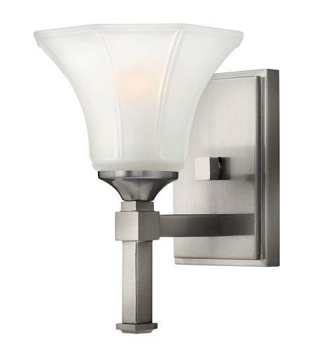 Hinkley Lighting Abbie 1 Light Sconce in Brushed Nickel 4040BN